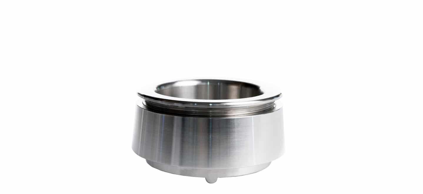 Schaltfläche zum Kauf Dosiertool Shot Collar für Siebträger